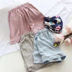 Dogini - Printed Pajama Shorts