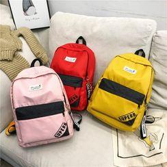 Sosara - Letter Canvas Backpack