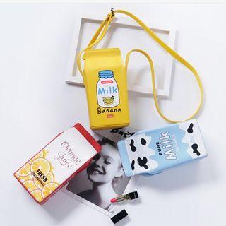 Eranso - Printed Drink Box Shoulder Bag