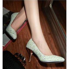 Freesia - 亮片高跟鞋
