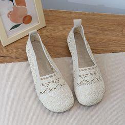 Daminsky - 蕾絲輕便鞋