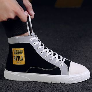 HANO - High Top Lace-Up Sneakers