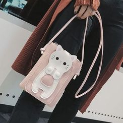 Hydrus - Cat Accent Crossbody Bag