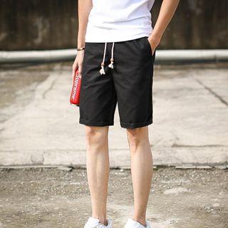 Bingham - Plain Drawstring Shorts