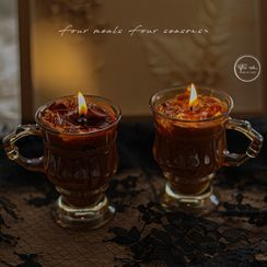 CANDLIA - Coffee Glass Fragrance Candle