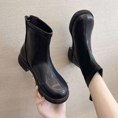 Youaisha - 粗跟短靴