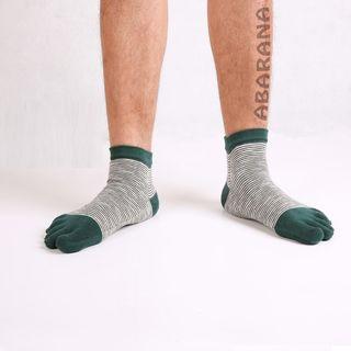 Abarana - Striped Toe Socks