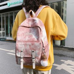 Beamie - Tie-Dye Print Backpack