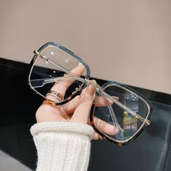 MOL Girl - Oversize Gradient Square Glasses