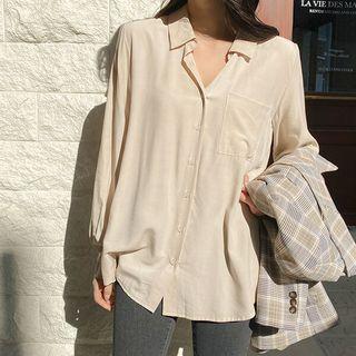 Seoul Fashion(ソウルファッション) - Pocket-Front Shirt