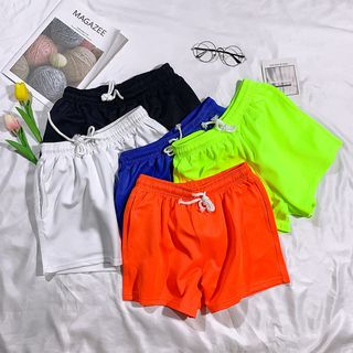 Jozev - Drawstring Beach Shorts