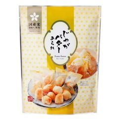 Three O'Clock - Morihaku Potato Butter Rice Cracker (individually wrapped)