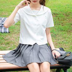 Carina - Sailor Collar Uniform Top