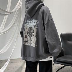 VEAZ - Long-Sleeve Print Hoodie