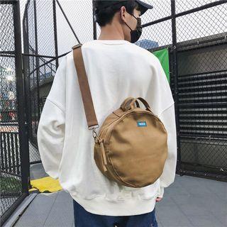 Carryme(キャリーミー) - Plain Round Crossbody Bag