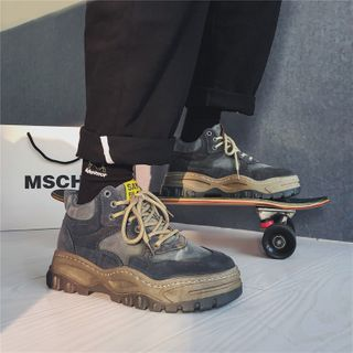 Tanzanite - 系带厚底休閒鞋