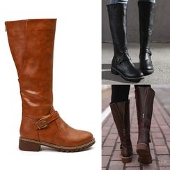 YIVIS - Buckled Tall Boots