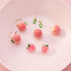 Agape - 水蜜桃耳環(多款設計)