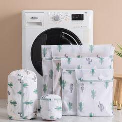Fun House - Cactus Print Laundry Bag