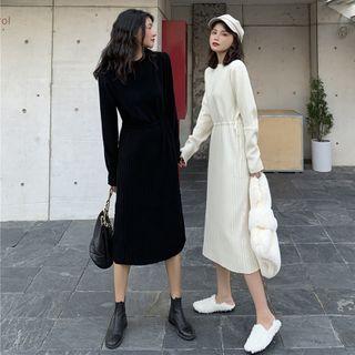 Sisyphi(シシピ) - Knit Dress Midi Skirt