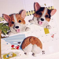 Showdog - 3D小狗冰箱磁铁