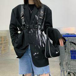 Suramaya - Faux Leather Body Harness