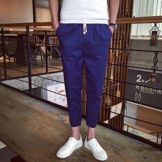 Kieran - 麻布哈伦裤