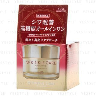 Kose - Grace One Wrinkle Care Moist Gel Cream