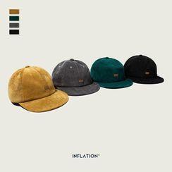 Newin - 情侣款灯芯绒棒球帽