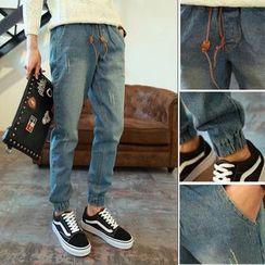 Acrius(アクリウス) - Drawstring Jogger Jeans