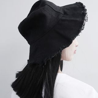 Sonne - Fray-Trim Bucket Hat