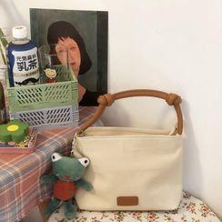 Chocolate Cosmos - Plain Canvas Hand Bag