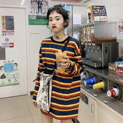 OCTALE - 彩虹條紋長袖上衣