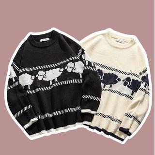 Kendeshi - Sheep Print Sweater