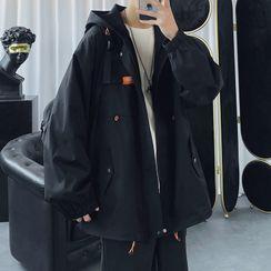 Posive - Hooded Cargo Jacket