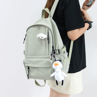 Little Days - Plain Canvas Backpack