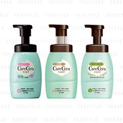 Rohto Mentholatum - Care Cera High Moisture Bubble Body Wash 450ml - 3 Types