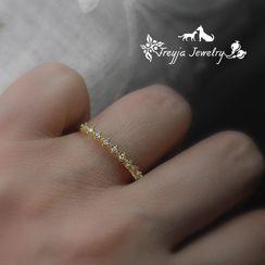 HIGH NOON - Rhinestone Ring