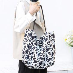Loveloads - Leopard Print Canvas Tote Bag