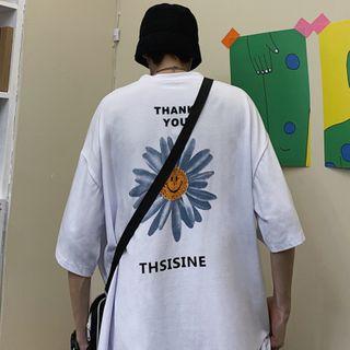 Banash - Printed Short-Sleeve T-Shirt