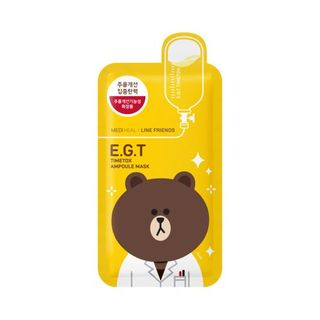 Mediheal - E.G.T Timetox Ampoule Mask Set 10pcs (Line Friends Edition)
