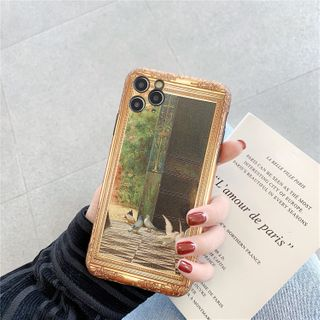 Phone in the Shell - Printed Case - iPhone 11 / 11 Pro / 11 Pro Max / XS MAX / XR / XS / X / 8 Plus / 8 / 7 Plus / 7 / 6S Plus / 6S