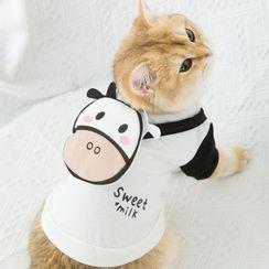 Cissilli - Milk Cow Pet Top