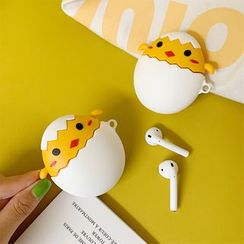 Wild Pony - Chicken Silicone AirPods Earphone Case Protection Cover Yellow - 6p/iPhone 6Plus