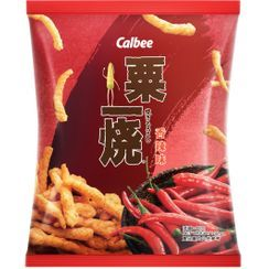 Calbee - Grill A Corn Hot & Spicy Flavor 32g