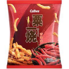 Calbee - Snack de maíz asado con sabor Hot & Spicy 32 g