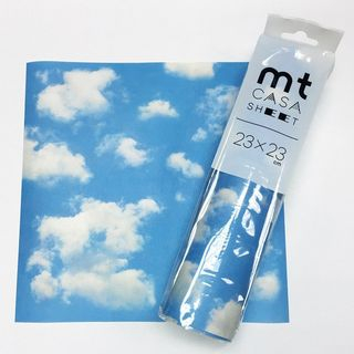 mt - mt Masking Tape : mt CASA Sheet 230mm Sky And Cloud (3 Sheets)