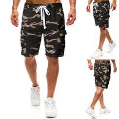 Cowofox - Camo Cargo Shorts