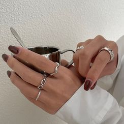 Foreflow - Alloy Open Ring (various designs)