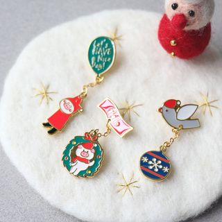 KIITOS - 聖誕金屬胸針 (多款設計)